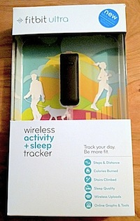 Fitbit Ultra packaging.